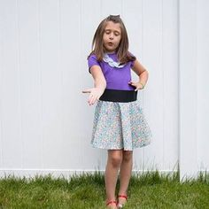 Latest style in shop! Bellasophiaclothing.com #fashion #style #kids #girls #clothing #floral #skirt via LilStylers
