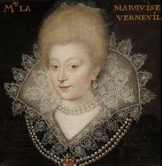 Catalina Enriqueta de Balzac d'Entragues. Marquesa de Verneuil. 1573-1633