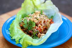 The Sweets Life: Asian Turkey Lettuce Wraps