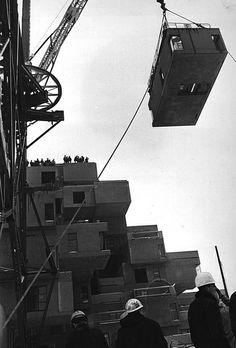 Habitat67 construction 1964-1967