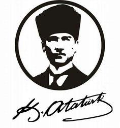 K.Atatürk Stencil Designs, Mug Designs, Pottery Painting, Painting On Wood, Hexagon Patchwork, 3d Cnc, Thing 1, Mini Tattoos, Quilt Making