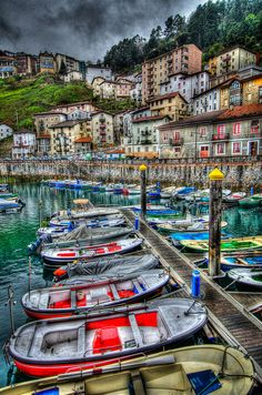 Elantxobe, Bizkaia, Basque Country, Spain