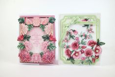 Tattered Lace Cards, Hollyhock, Lily Of The Valley, Bliss, Decorative Boxes, Flowers, Projects, Crafts, Collections