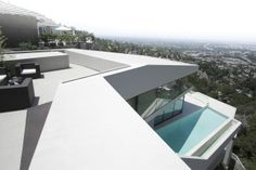Futuristic House with Jetliner Views | MUL:7691 by VOID Architects | dexignia