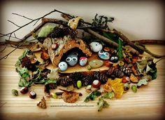 Forest School Fun: Transform pebbles into Pebble Pets & create a seasonal habitat! Forest School Activities, Nature Activities, Outdoor Activities For Kids, Outdoor Learning, Fun Activities, Outdoor Play, Outdoor Art, Activity Ideas, Outdoor Education