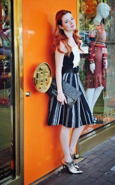 Si hay alguien que tiene estilo, es esta señorita. Admire her @sea_of_shoes