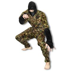 Camouflage Ninja Uniform now available at http://www.karatemart.com/