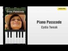 Piano Passcode cydia tweak allows you to play the piano to unlock your device. http://www.bestcydiatweaks.com/piano-passcode.html