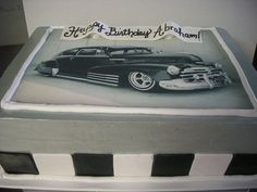 Chevy Bel Air Cake For My Sweetie S Bday Desserts