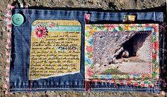Mini album en jean Rencontre avec les marmottes (3)