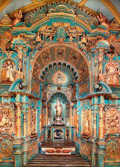 Retablo Nuestra Señora de la Evangelización / Our Lady of the Evangelization // Lima, Perú