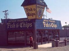 Arthur Treachers Fish & Chips / No longer in the Chicagoland area (founded 1969) - Chicken's the best!