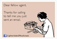 It is 2014 but somehow this still happens and it makes me laugh every time! #RealEstateProblems #RealtorProblems