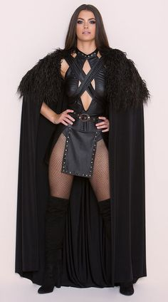 Game of Thrones Jon SEXY NORTHERN QUEEN COSTUME SJC100 S M L XL King Cosplay #Yandy #CompleteOutfit