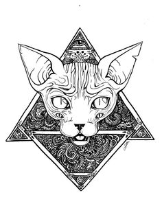 DeviantArt is the world's largest online social community for artists and art enthusiasts, allowing people to connect through the creation and sharing of art. Bast Tattoo, Sphinx Tattoo, Egypt Tattoo, Egyptian Cat Tattoos, Egyptian Drawings, Egyptian Tattoo Sleeve, Egyptian Cat Goddess, Egyptian Cats, Ancient Egyptian Art