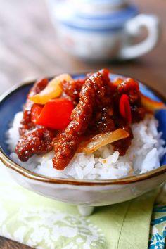 Beijing Beef, your favorite Panda Express takeout.