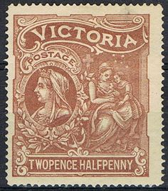 Stamps ©: Stamp of Victoria (Australia; Uk Stamps, Rare Stamps, Vintage Stamps, Vintage Labels, Vintage Posters, Charity Fund, Postage Stamp Design, Postage Stamp Collection, Victoria Australia