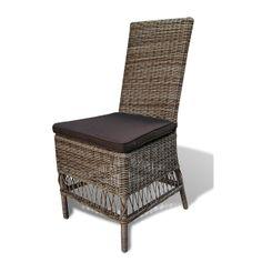 Wicker Tuinstoel Maud is een mooi, comfortabele stoel voor aan uw tuintafel, maar is ook zeer geschikt voor binnen. De stoel wordt geleverd inclusief bijbehorend kussen, waarvan de omtrek afritsbaar en tevens geschikt voor de wasmachine is. Tuinstoel Maud is gemaakt van 3mm dik rond Wicker met als basis aluminium. Wicker is een hoogwaardig kunststof dat tegen alle weersomstandigheden bestendig is. #Tuinstoel #Tuinstoelen #tuinmeubelen #tuinmeubel #tuinmeubels