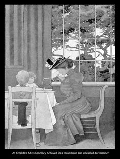 """Maxfield Parrish - illustration from """"The Golden Age"""" by Kenneth Grahame (1899)"""