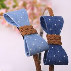 Hair accessories leather ideas 68 Ideas for 2019 Best Picture For DIY Hair Accessories videos Diy Hair Bows, Diy Bow, Diy Headband, Baby Headbands, Felt Flowers, Fabric Flowers, Denim Hair, Barrettes, Hairbows