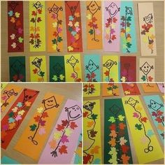 Halloween Crafts For Kids, Paper Crafts For Kids, Diy For Kids, Arts And Crafts, Autumn Crafts, Autumn Art, Spring Crafts, Autumn Activities For Kids, Art Activities
