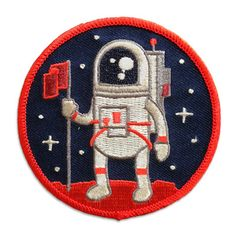Adventure Club #2 - Astronaut Patch from Rad Stuff