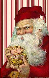 **FREE ViNTaGE DiGiTaL STaMPS**: Free Vintage Printable - Christmas Santa