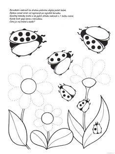 Pracovní listy pro děti | i-creative.cz - Kreativní online magazín a omalovánky k vytisknutí
