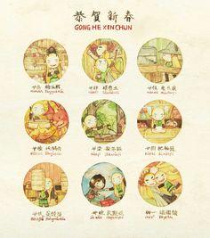 #CNY不是RMB# 在网上没能给儿子买到托尔金12卷中土世界的历史 ,也没能买到Potter和Percy,Hobbitkids的小画书,比出版商和电商更心怀愧疚!漫画来自混海外画网三年的中国网友navy-locked