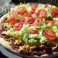Pizza à mexicana @ allrecipes.com.br