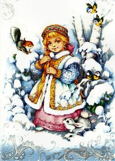 navidad rusa postales