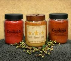 Crossroads Candles - The best candles that make your house smell so good; even when they arent burning... I always have the Buttered maple syrup- MMMM