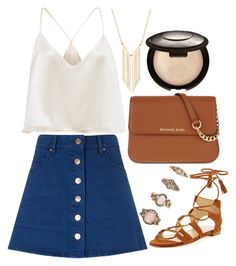 """""""Untitled#1420"""" by mihai-theodora ❤ liked on Polyvore featuring Stuart Weitzman, Étoile Isabel Marant, MICHAEL Michael Kors, Gemelli, Forever 21 and Becca"""