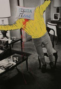 """teta y sopa 2015 intervención sobre el libro """"Steve McQueen photographs"""" de William Claxton. Colaboración para TEA de Irene Pinilla"""