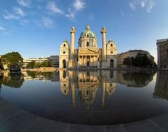 Vienna, Austria one of my favorite buildings Places Around The World, Oh The Places You'll Go, Around The Worlds, Wonderful Places, Beautiful Places, Temple, European City Breaks, Visit Austria, Places