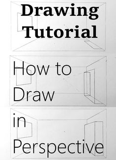 How to draw in perspective. What is linear perspective with one, two or three vanishing points and how to add figures when drawing. Atmospheric perspective and its influence on landscape painting. Sketching Techniques, Shading Techniques, Art Techniques, Basic Drawing, Drawing Skills, Basics Of Drawing, Drawing Guide, Drawing Reference, Perspective Drawing Lessons