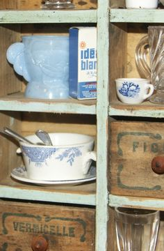 Kitchen shelf. Jpg Kitchen Shelves, Cubbies, Crates, Shelving, Shelf, Kitchens, Mugs, Tableware, Decor