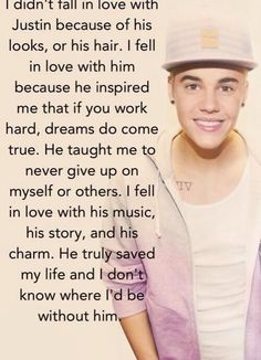 Every word of this is true. I hate it when someone says they are a Belieber when they just fell in love with his looks...