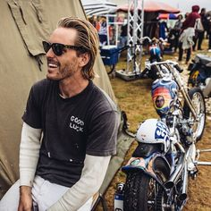 Combine surfboards and motorcycles and the Cycle Zombies are sure to turn up. @scottystopnik and @chasestopnik will be cruising around Wheels and Waves this week-end, come say hi // #EverySecondCounts #wheelsandwaves // photo: @lorenz.richard
