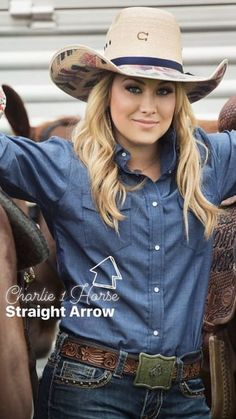 Summer is for the straws. Find your perfect match with Charlie 1 Horse hats! Cowgirl Mode, Estilo Cowgirl, Cowgirl Style, Rodeo Cowgirl, Gypsy Cowgirl, Real Country Girls, Country Girl Style, Country Women, Country Couples