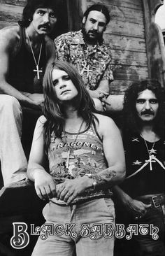 Black Sabbath. one of the bands who basically gave birth to metal, legends, makes you proud to be british :D