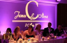 pictures of uplighting at wedding receptions | ... Monogram with Uplighting at Stamford Plaza 175x112 Wedding Uplighting