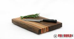 How to Make a Cutting Board from Scrap Wood