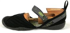 Keen Shoes Womens Size 9 M Black Fabric Mary Jane Sport Loafers #KEEN #LoafersMoccasins
