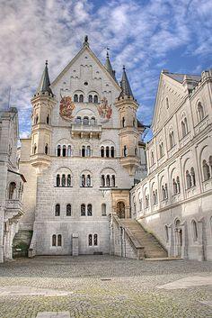 Upper Courtyard Neuschwanstein Castle