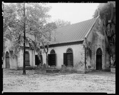 """8. Old St Andrews Episcopal Church, Charleston. 1938 According to the book """"Against All Odds,"""" this old church was established and built in 1706 to serve planters and their slaves along the Ashley River during the heyday of rice and indigo. During the 1800s The Reverend Drayton (yes, of THAT Drayton Hall on the Ashley) was known to minister here and provided sanctuary for freed slaves."""