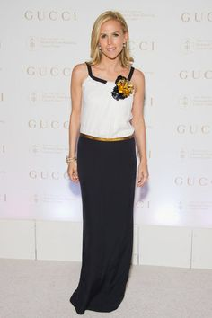 Tory Burch wore Gucci to the 5th annual Society of Memorial Sloan-Kettering Cancer Center Spring Ball at the Metropolitan Museum of Art in New York. Brit Marling wore Spring 2012 Gucci to a screening of Sound of My Voice in New York. {Fashionologie | Christina Perez | 27 April 2012 }