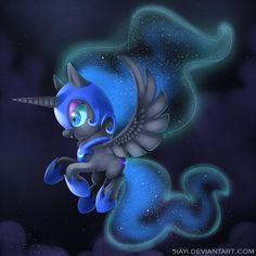 Chibi Night Mare Moon