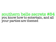 southern belle secrets #84