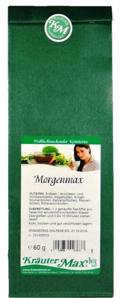 Perfekt für Morgenmuffel! ;-)  Dieser Tee enthält wohltuende Kräuter, die es wert sind, eine Tasse davon zu trinken. Gönn´ dir einen guten Start in den Tag. :)